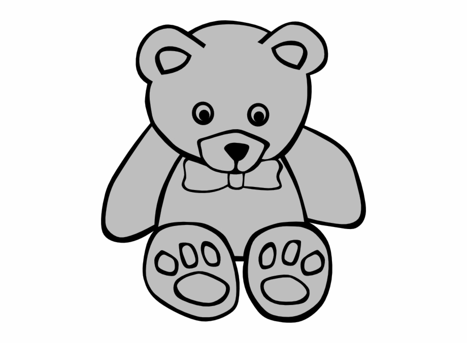 Bear Png - Cute Teddy Bear Coloring Pages | Transparent PNG ...