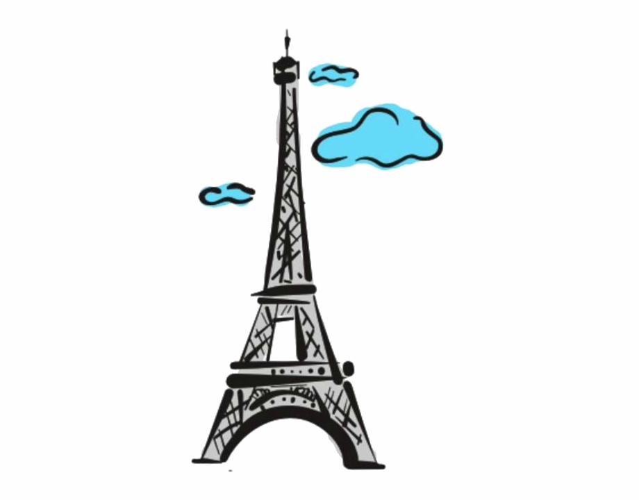 Eiffel Tower Png Cute Eiffel Tower Paris Emoji Transparent Png Download 411797 Vippng