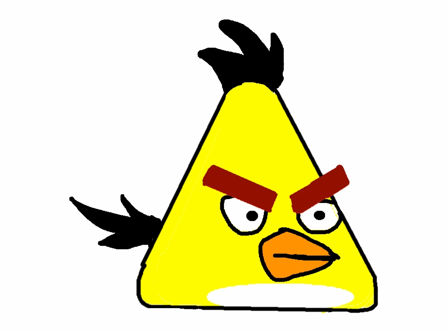 Angry Bird Yellow Transparent Png Download 412028 Vippng