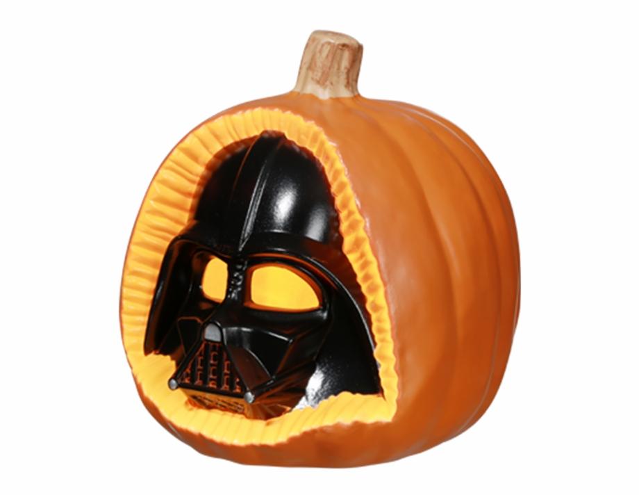 Darth Vader Darth Vader Pumpkin Png Transparent Png Download 416987 Vippng