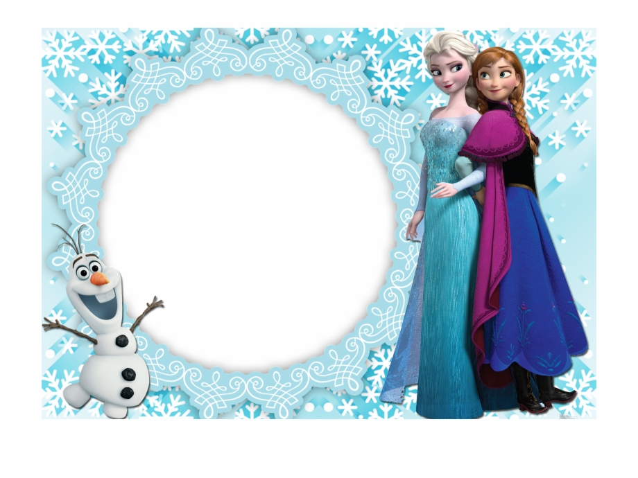 15 Moldura Frozen Png For Free On Mbtskoudsalg Frozen Elsa And