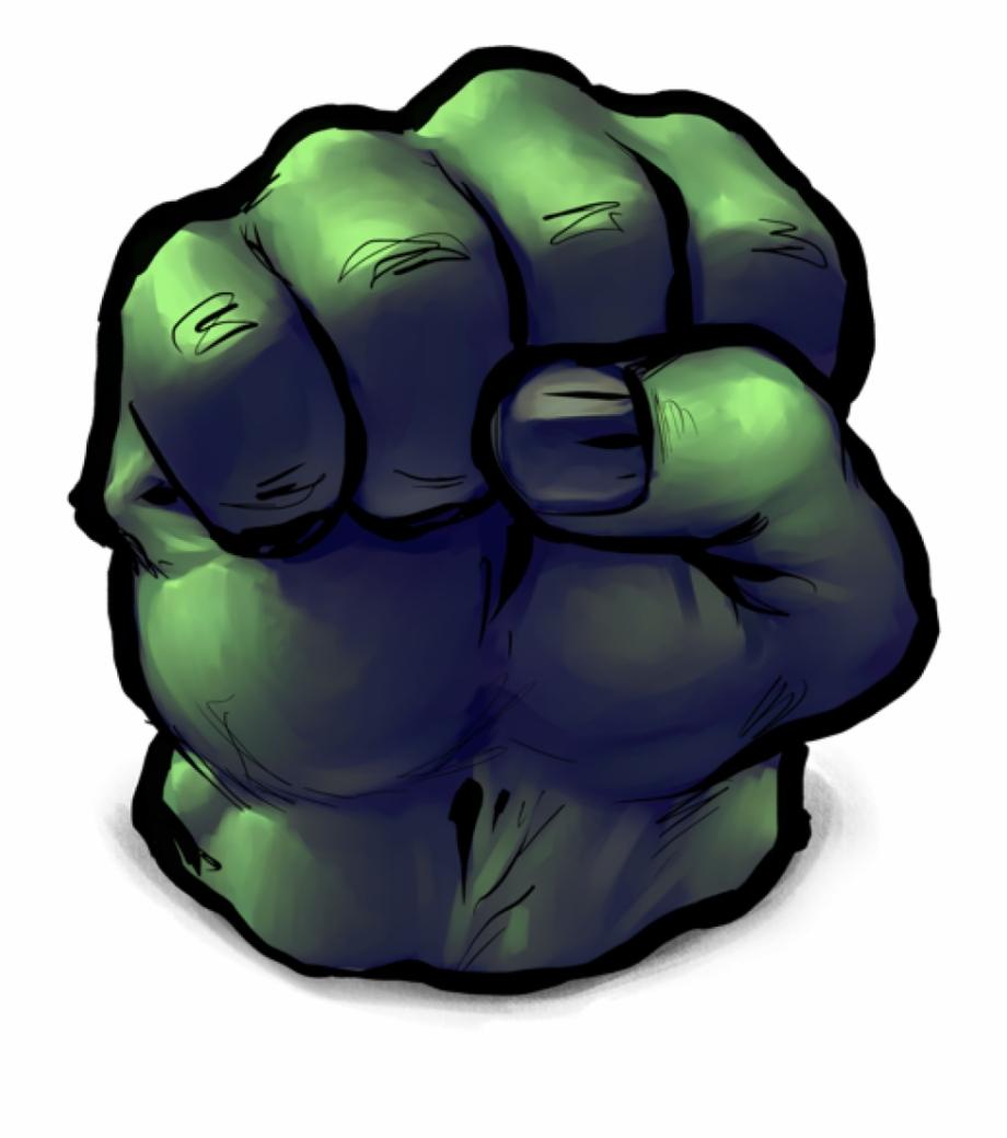 Hulk Mao Do Hulk Desenho Transparent Png Download 418365 Vippng