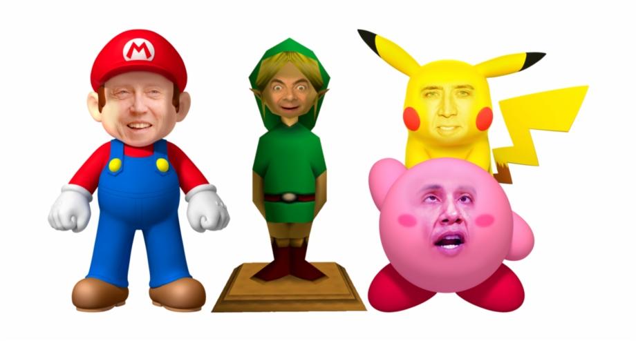 Nintendo Characters Png Transparent Image Super Mario