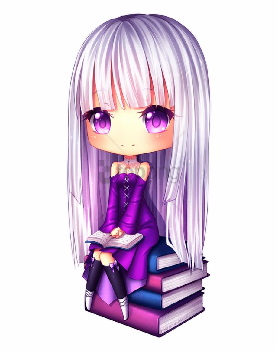 Veda By Hyanna Natsu Cute Chibi Anime Girl Transparent Png