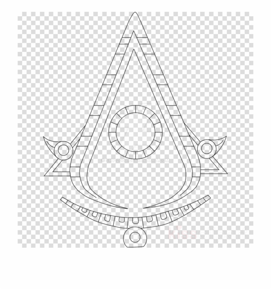 Assassin Creed Aztec Symbol Clipart Logo Assassin S Sketch Anime Base Drawings Transparent Png Download 4184412 Vippng