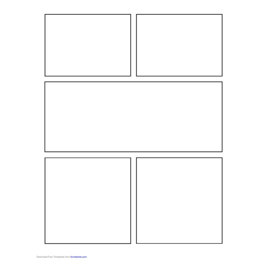 Comic Book Template Png from www.vippng.com