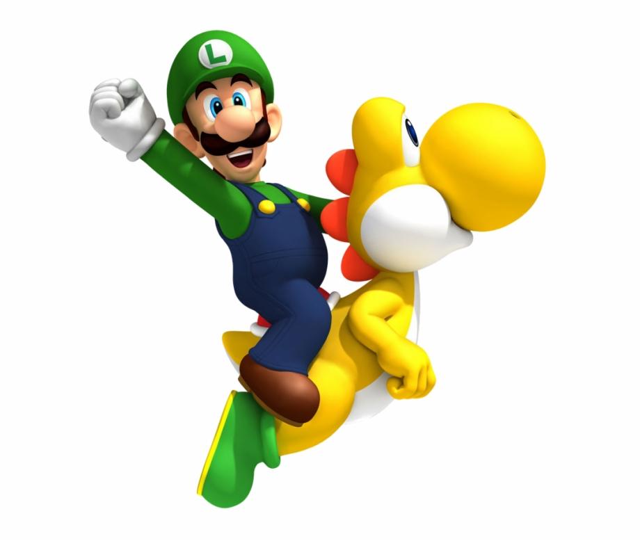 Luigi Mario Png Luigi New Super Mario Bros Wii