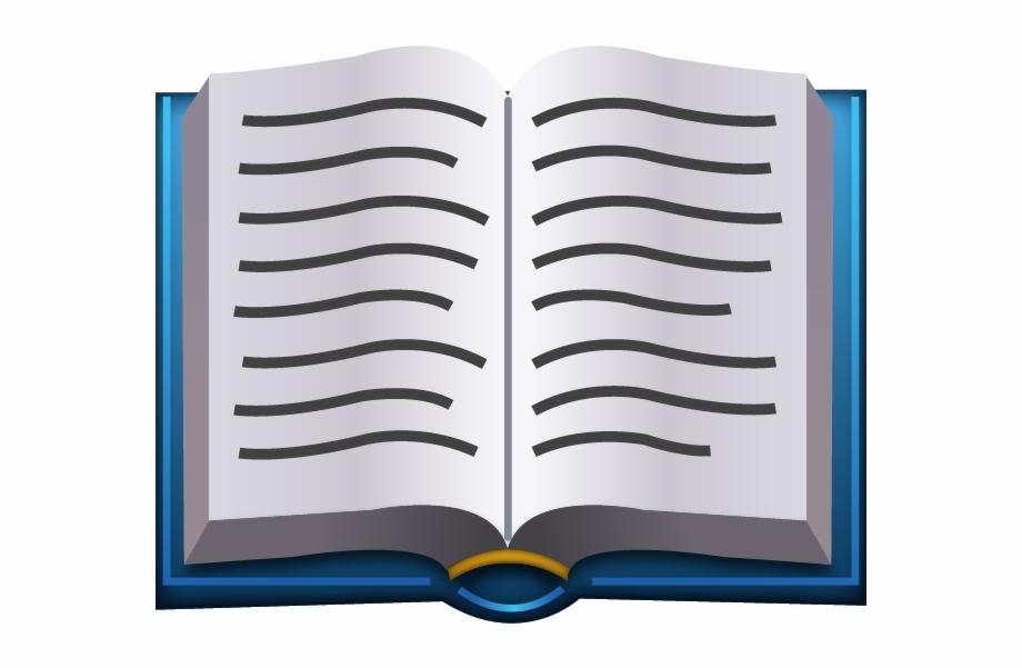 Book Emoji Iphone Png | Transparent PNG Download #429360