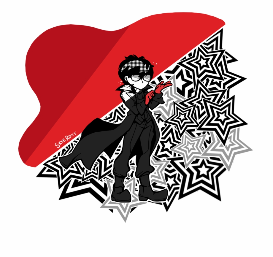 Drew Some Persona 5 Fanart For A School Project