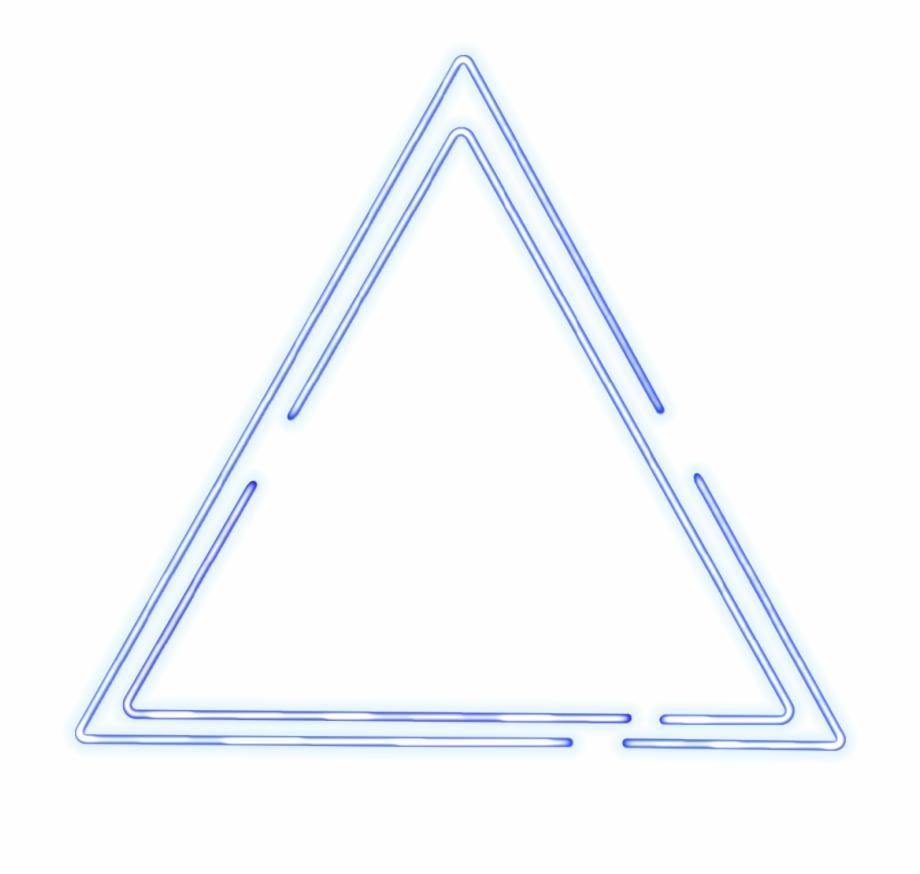 Ripple Signature Neon Triangle Neon Circle - Triangle