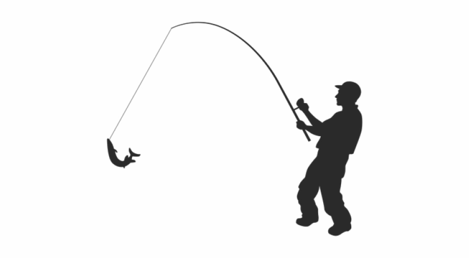 Download Fishing Pole Clipart Png Transparent Man Fishing Free Svg Transparent Png Download 4270672 Vippng