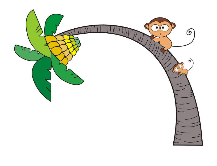 Clipart Monkey Hanging From Tree   Free Images at Clker.com - vector clip  art online, royalty free & public domain