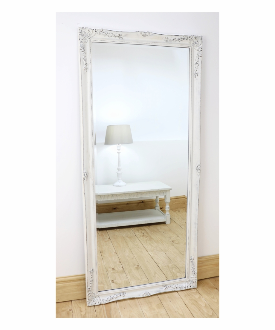 An Overall View Of This Highly Decorative Mirror In Full