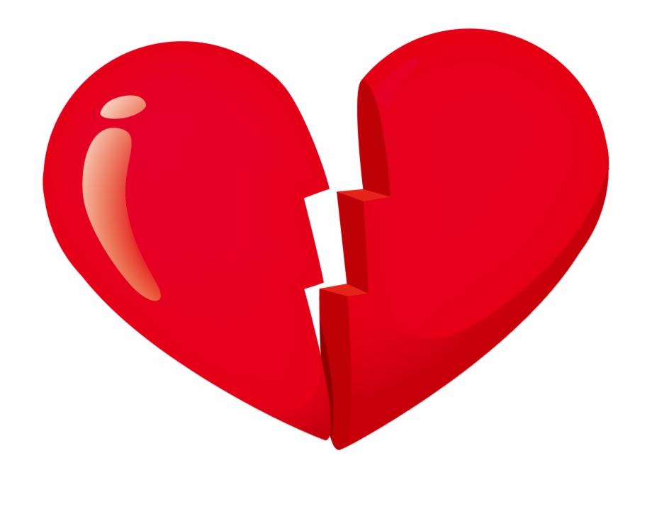 Broken Heart Clip Art Transprent Png Free Broken Heart Gif Png Transparent Png Download 433452 Vippng