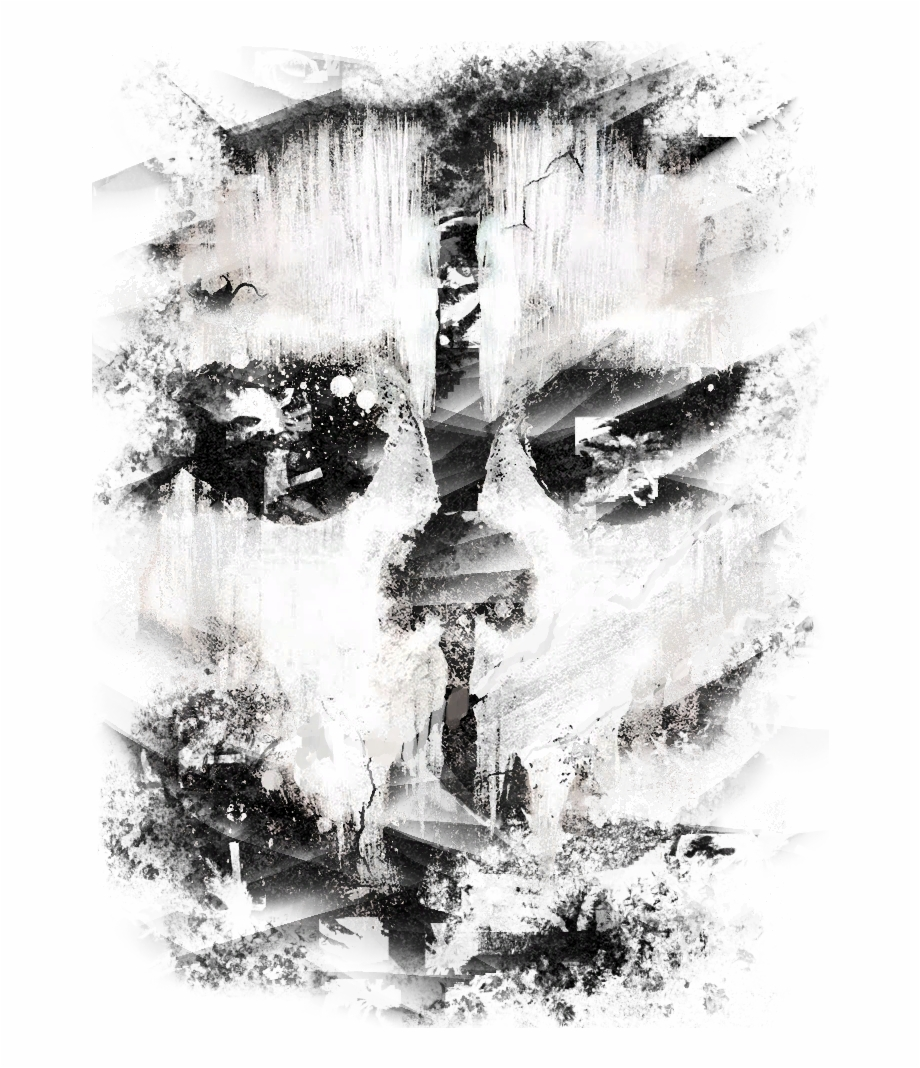 Image Ghosts Faction Graffiti Codg Png Call Cod Ghost Mask