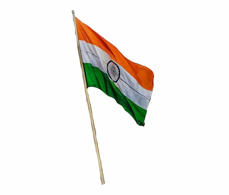 Indian Flag Png Picsart India Flag Png Transparent Png Download 4376886 Vippng