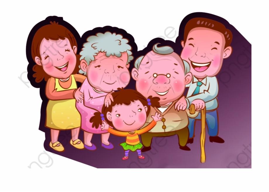 Happy Family Clipart + Patterns | Pre-Designed Photoshop Graphics ~  Creative Market