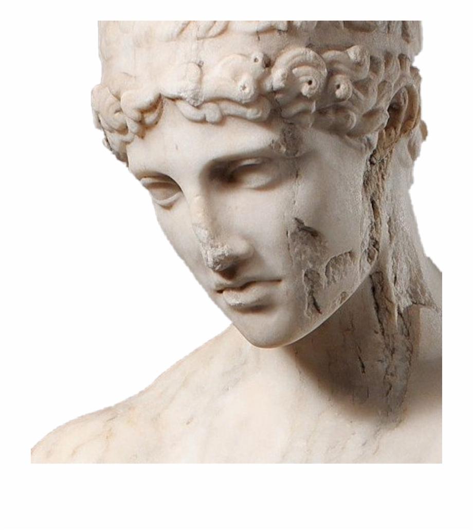 Vaporwave Png Greek Broken Greek Statues Transparent Png Download 4388046 Vippng