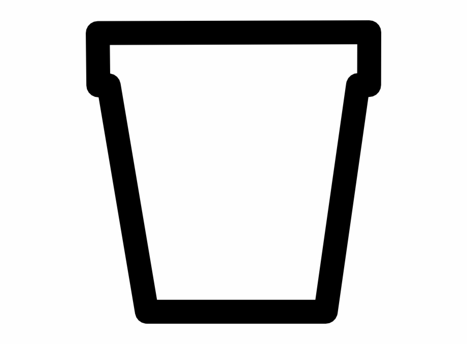 193 & Black And White Flower Pot Clipart | Transparent PNG Download ...