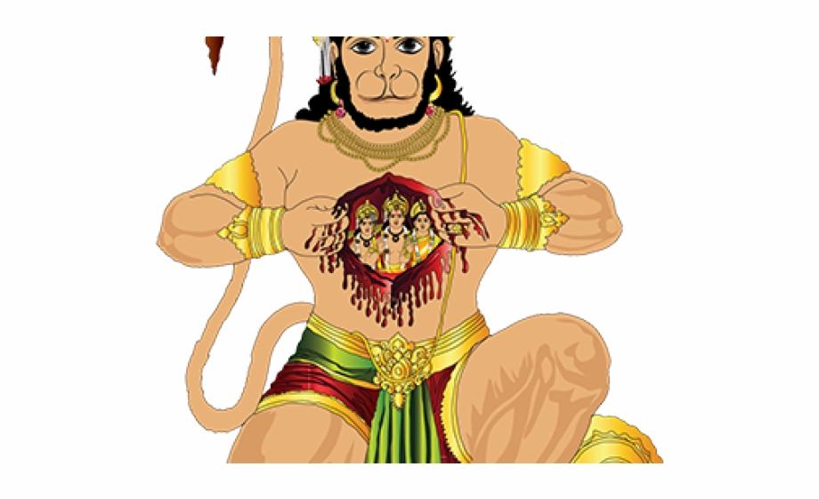 Hanuman Full Hd Png Transparent Png Download 4424855 Vippng