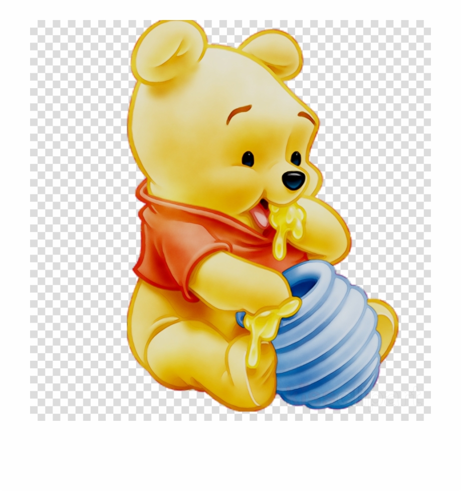 Eating Clipart Png Honey Png Pooh Winnie Pooh Baby Png 4433843 Vippng