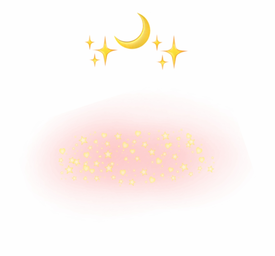Star Sticker Cute Transparent Aesthetic Background Transparent
