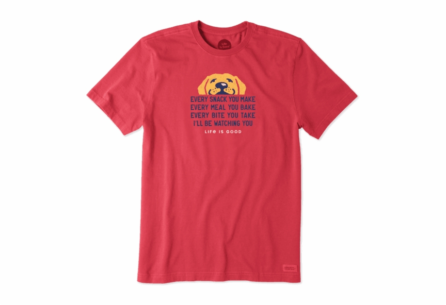 Life is Good Mens Crusher T-Shirt Ill Be Watching