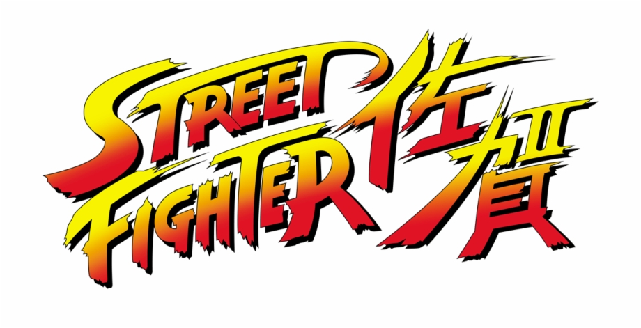 Street Fighter Saga Logo Street Fighter 2 Champion Edition Logo Transparent Png Download 4474671 Vippng