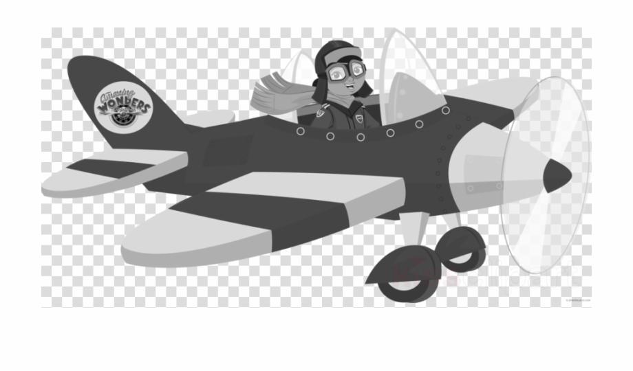 Cartoon Old Airplane Clipart Airplane Flight Aircraft Amelia