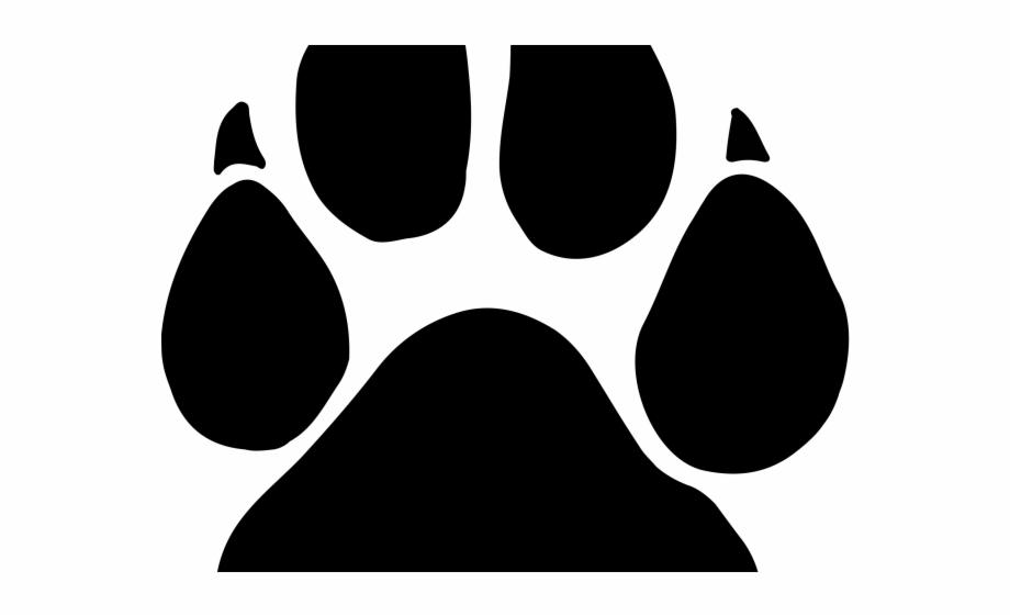 Black Paw Print Png : Dog paw clip art | black paw print silhouette.