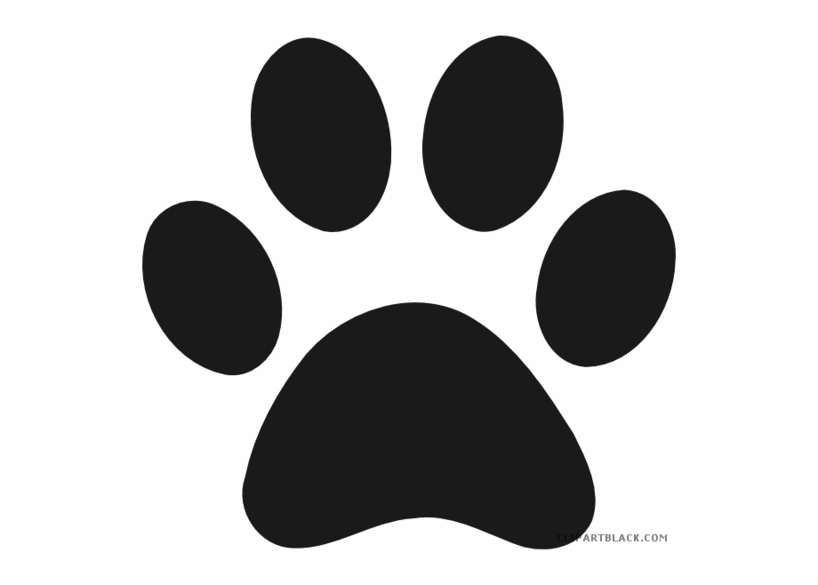 Paw Prints With Hearts Clipart Dog Puppy Clip Art - Paw Print Heart Clip Art  - Free Transparent PNG Clipart Images Download