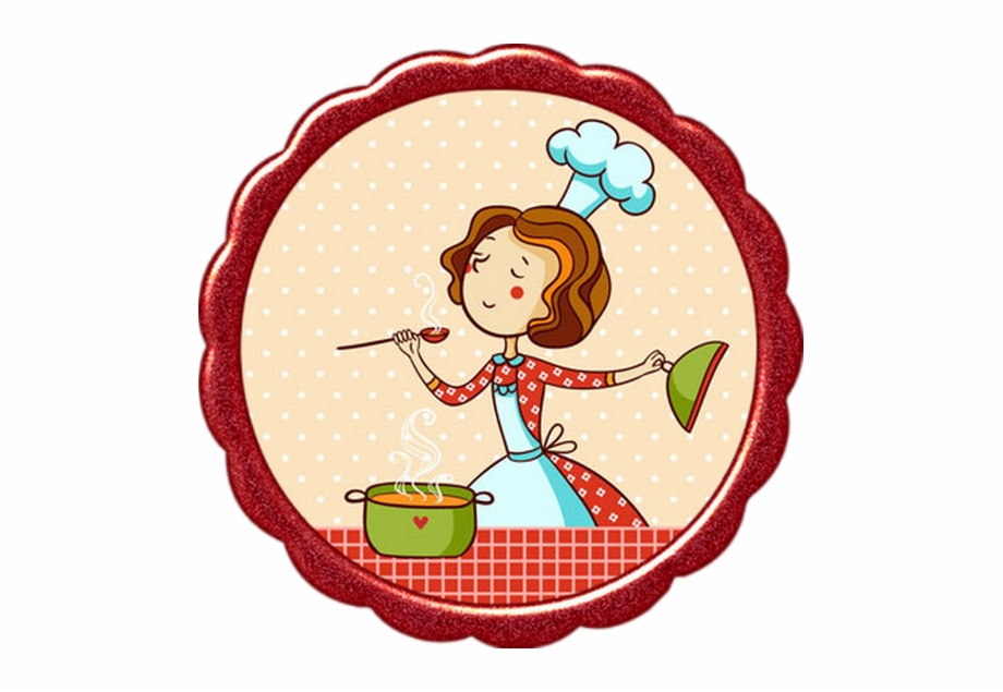 Femme Cuisiniere Clipart Kitchen Cooking Vector Transparent Png Download 4618669 Vippng