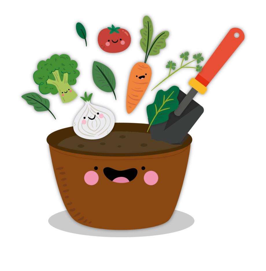 Vegetable Garden - Cartoon | Transparent PNG Download #4642588 ...