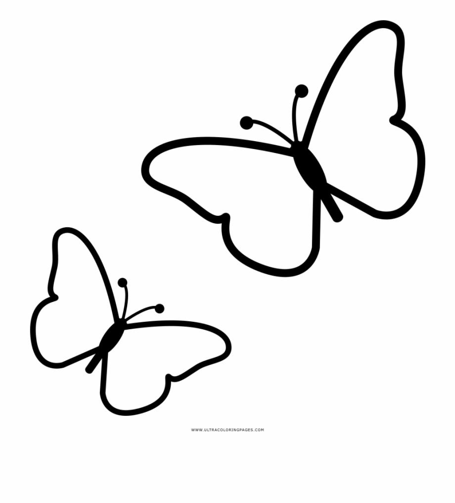 Butterflies Coloring Page Desenho De Borboleta Para Colorir