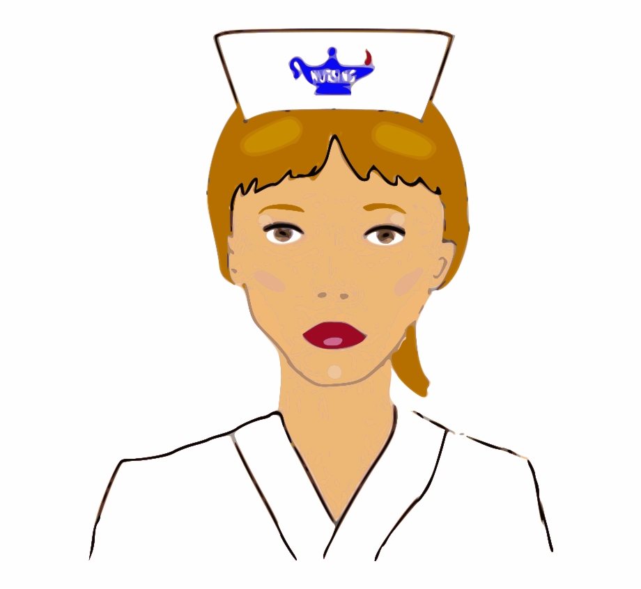 Nursing Students Clipart Outline Of A Nurse Transparent Png Download 4665115 Vippng