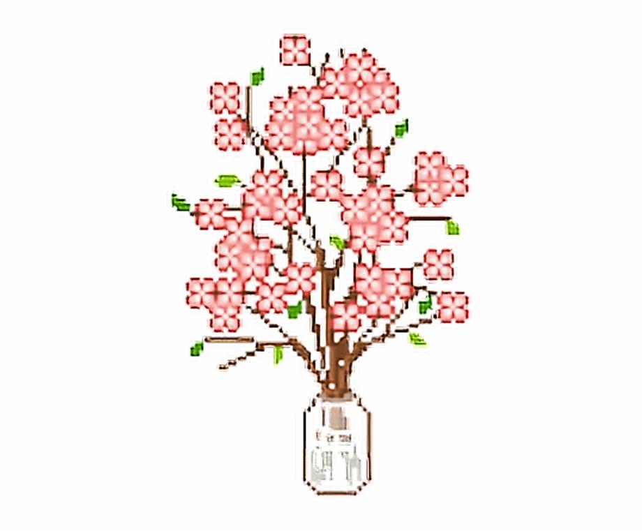 Tumblr Png Flowers Pixel Pink Cute Kawaii Flower