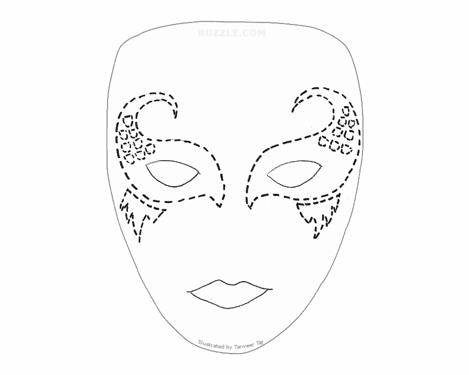 This is an image of Printable Mask for star wars
