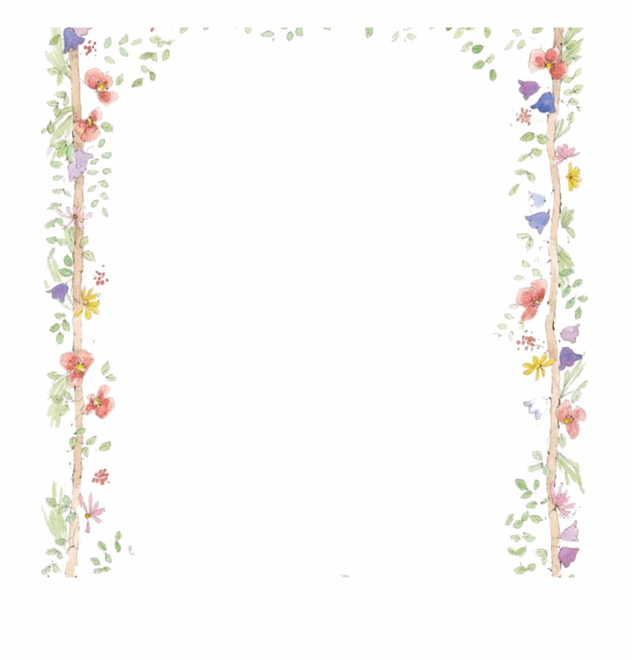 Spring Clipart Borders 19 Spring Graphic Library Borders Flower Border Free Transparent Png Download 473474 Vippng