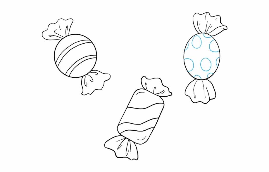 Dibujos De Dulces Para Colorear Simple Candy Drawing