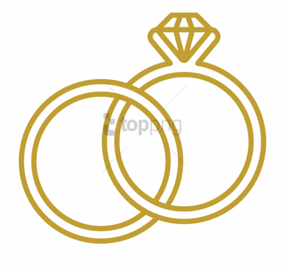 Rings Blue Images Icon Wedding Rings Png Transparent Png