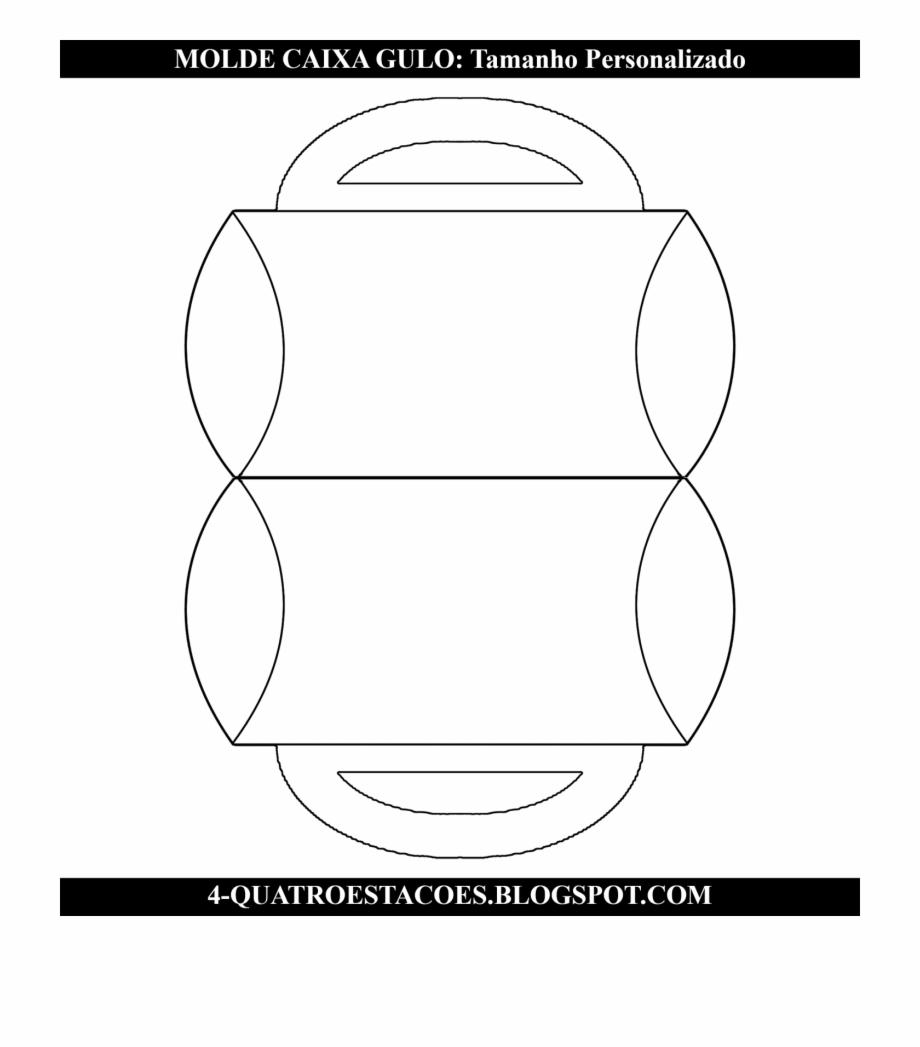 Molde Limpo Para Imprimir Png Transparente Caixa Gulo Caixa