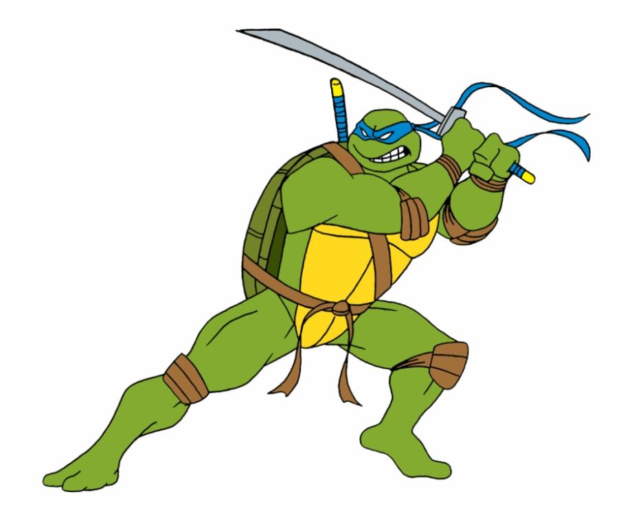 Tutle Png Free Images Leonardo Ninja Turtles Png Transparent