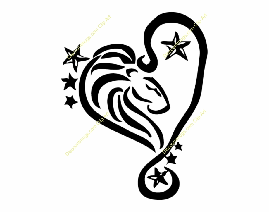Leo Tattoo Designs Clipart Leo Tattoo Zodiac Tattoos For Leo Star Sign Transparent Png Download 4899541 Vippng