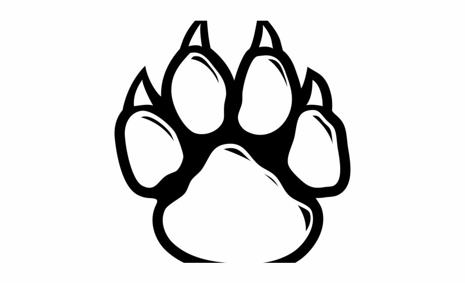 Tiger Paw Outline White Transparent Background Paw Print Transparent Png Download 492901 Vippng Choose from 110+ paw prints graphic resources and download in the form of png, eps, ai or psd. tiger paw outline white transparent