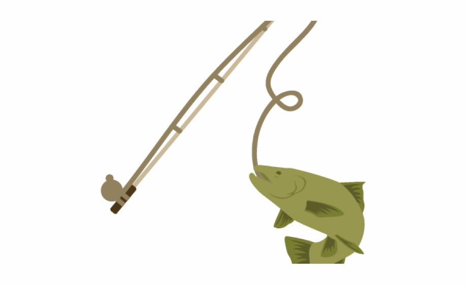 Fishing Pole Clipart Png Transparent Fishing Pole With Fish Transparent Png Download 495199 Vippng