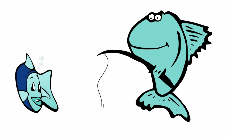 Rod Clipart Baby Fishing Fishing Cartoon Transparent Png Download 495478 Vippng