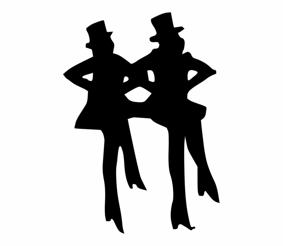 Transparent Dancer Black And White Tap Dancing Clip Art Transparent Png Download 4924978 Vippng
