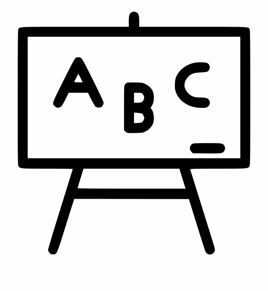 board abc class room school blackboard svg png icon clipart of black board transparent png download 4941205 vippng board abc class room school blackboard