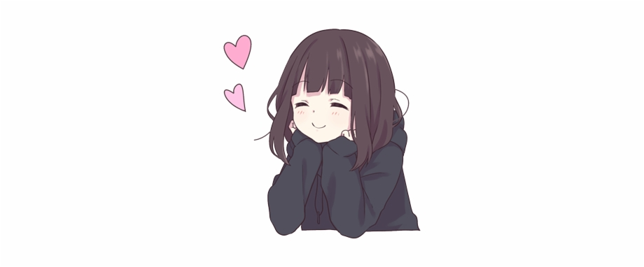 Anime Animegirl Japan Manga Animelove Love Cute Menhera Chan Heart Transparent Png Download 4982609 Vippng