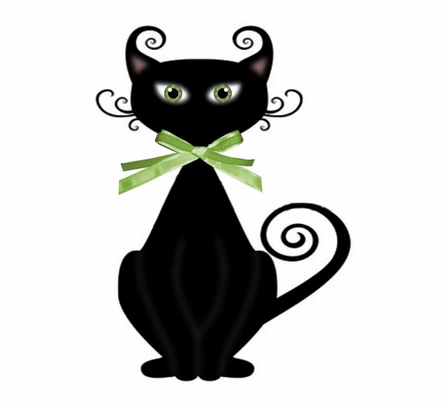 transparent black cat - 920×800
